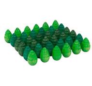 Mandala árboles 36 piezas