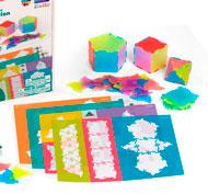 Construcción formas polígonos set de 56