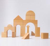 Bloques construcción gigantes set de 19 piezas