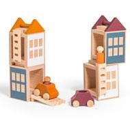 Lubo town city set de 14 piezas