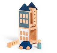 Lubo town city flat set de 7 piezas