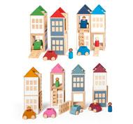 Lubo town edu pack set de 52 piezas