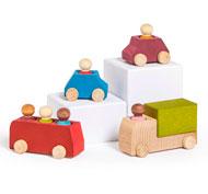 Los vehículos Lubo town city set de 10 piezas