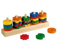Ábaco formas y colores ábaco de madera el conjunto