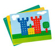 Fichas de actividades plastificadas para tablón grande lote de 6