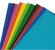 Hojas de papel de seda 18 g colores oscuros lote de 480