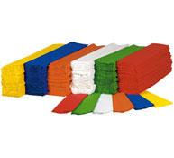 Maxi lote rollo de papel crespón 28 g lote de 180