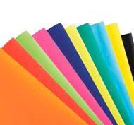 Cartulinas de colores lote de 10