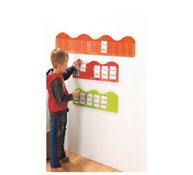 Porta tarjetas mural pequeñas olas long. 120 cm la unidad