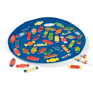 Juego de asociación los caramelos el juego
