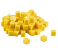 Base 10 multicolor cubo unidad lote de 100