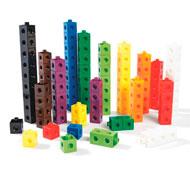 Cubos de colores encajables lote de 100