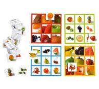 Bingo fotos frutas el juego