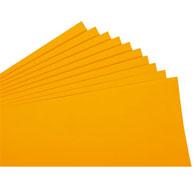 Hojas de cartulina 235 g fluorescente lote de 10