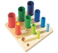 Encaje formas los tubos la unidad