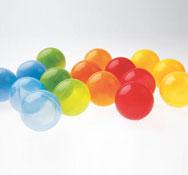 Bolas translúcidas lote de 250