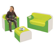 Kit club rincón sofá  alt. 32 cm el conjunto