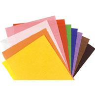 Hojas de papel crespón 28 g colores vivos lote de 10