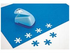 Troqueladora tamaño pequeño copos de nieve la unidad