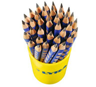 Lápices de grafito ergonómicos groove maxi x36 lote de 36