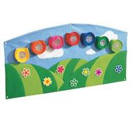 Gran tapiz mural de actividades baby artisticks el arco iris el conjunto