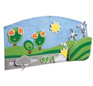 Gran tapiz mural de actividades baby artisticks el paisaje el conjunto