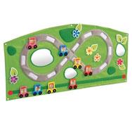 Gran tapiz mural de actividades baby artisticks la carretera el conjunto