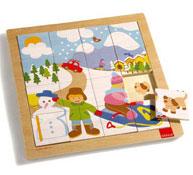 Puzzle indicios el invierno la unidad