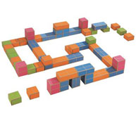 Kit arquibloque el maxi recorrido 50 piezas el conjunto