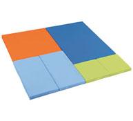 Kit de tapices mosaico cuadrado 6 tapices el conjunto