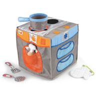 Mini cocinita tex'til cooking con accesorios el conjunto