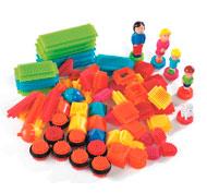 Juego de construcción bristle blocks 1 lote de 85 ladrillos - la familia lote de 85