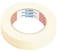 Cinta adhesiva de papel l: 50 m- a: 1,9 cm. la unidad