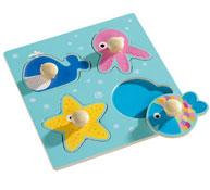 Encaje animo los animales del mar la unidad