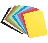 Estuche canson hojas de papel de colores 120 g la unidad