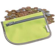 Monedero con monedas el conjunto