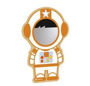 Decoración con espejo el astronauta la unidad