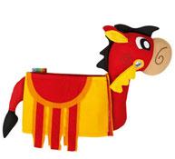 Disfraces 3d caballo de lancelot la unidad