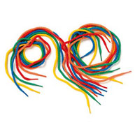 Cordones multicolores lote de 36