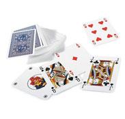 Juego de 54 cartas en plástico el juego