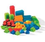 Juego de construcción bristle blocks lote de 112 piezas lote de 112