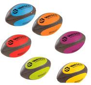 Balones de rugby buen agarre  maxi lote talla 4 lote de 6