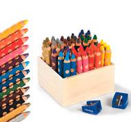 Lápices de colores acuarelables groove triple one classpack lote de 48