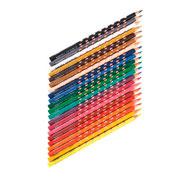 Lápices de colores ergonómicos groove slim lote de 48