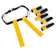 Cinturones de flag rugby lote de 6