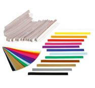 Bandas de papel colores arcoíris lote de 2400