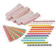 Bandas de papel geométricos lote de 2400