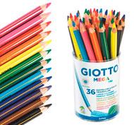 Lápice de colores ergonómicos megatri lote de 36