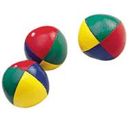 Bolas de malabares alta resistencia lote de 3