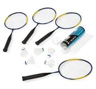 Kit bádminton mini raquetas para 4 niños el conjunto